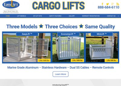 Beach House Cargo Lifts